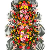 축하3단화환(꽃축복3호)